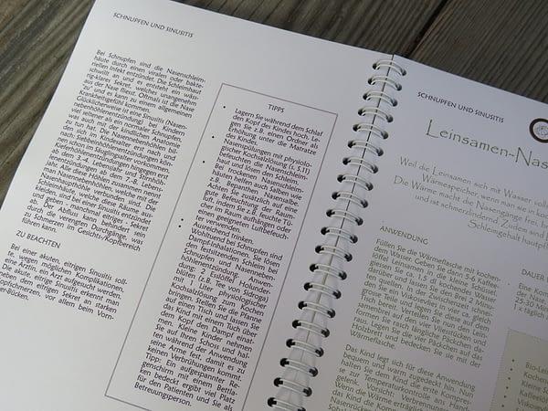 Buch Anleitung Wickel und Kompressen für Kinder