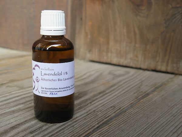 Lavendelöl für Wickel und Kompressen