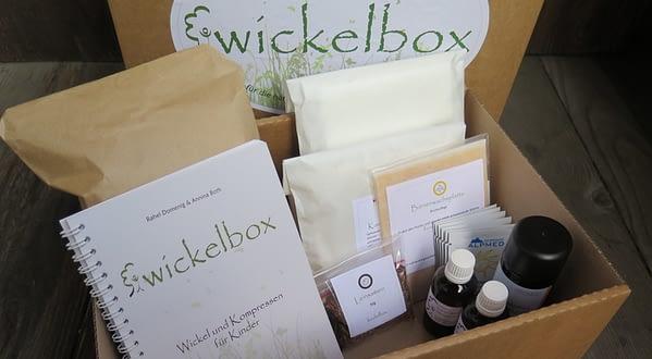 Wickelbox für Kinder Wickel und Kompressen