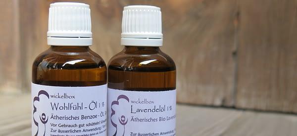 Lavendelöl und Wohlfühl-Öl Wickel und Kompressen für Kinder